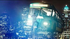 автобус летит