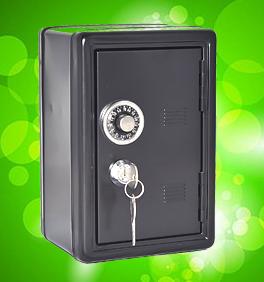 Сейф на зеленом фоне, ключи доступа в НЛП