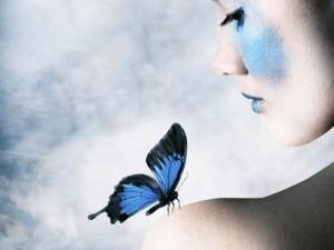 Бабочка и кокон