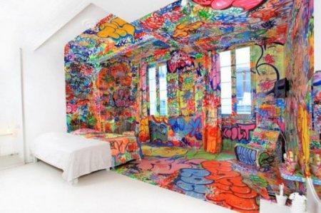 креатив дизайн комната